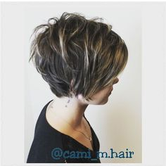 Long pixie, layers