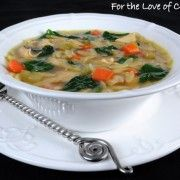 For the Love of Cooking » Turkey and Orzo Soup with Spinach-  This was EXCELLENT!