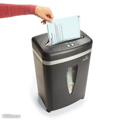 Shred papers to protect your identity.New Year's Resolutions for Your Home: The Family Handyman House Cleaning Tips, Cleaning Hacks, Clean Dryer Vent, Sump Pump, Home Safety, Security Cameras For Home, Home Repairs, Heating And Cooling, Entry Doors