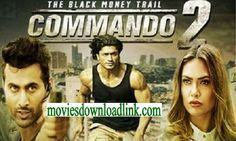 Commando 2 (2017) Full Movie Watch Online Download HD 720p DVDScr 700MB Torrent Movie: Commando 2 2016 Full Movie Download 300MB 500Mb 750Mb mobile Videos