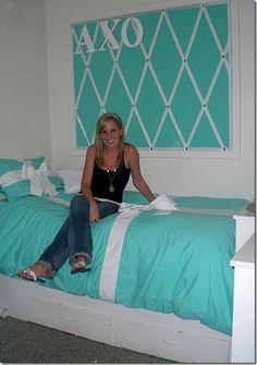 Tiffany & Company dorm - OMG I would SO do a spare room like this ;-)