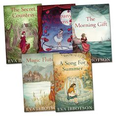 Eva Ibbotson Pack x 5 - Scholastic Book Club Nonfiction, My Books, Packing, Romance, Author, Songs, My Love, Reading, Fun Stuff
