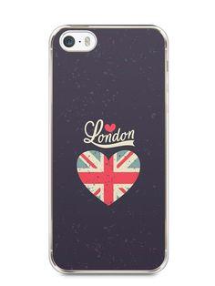 Capa Iphone 5/S Londres #5 - SmartCases - Acessórios para celulares e tablets :)