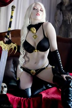 Toni Darling as Lady Death