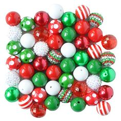 Christmas 20mm Bubblegum Bead 50 Piece Bulk Set from Bout... https://www.amazon.com/dp/B016SEG48I/ref=cm_sw_r_pi_dp_x_oAiuyb24N2SR3