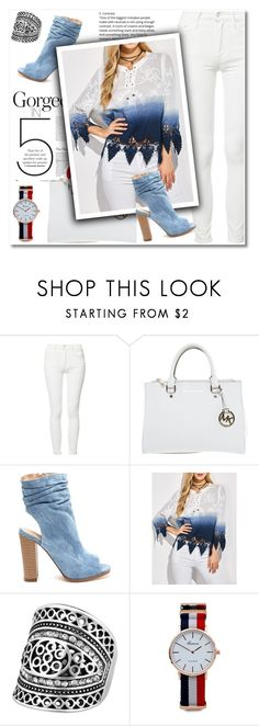 """""""Celebrate your good days"""" by aida-nurkovic ❤ liked on Polyvore featuring Mother, Michael Kors, Elegant, women and rosegal"""
