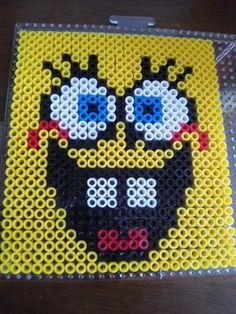 Spongebob perler beads by Misako D. - Perler®   Gallery