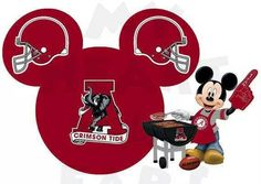 Mickey knows! Roll Tide!