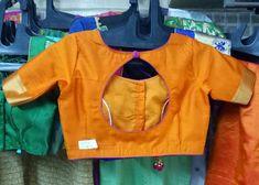 Saree Blouse Neck Designs, New Blouse Designs, Dress Designs, Blouse Patterns, Blouse Designs Catalogue, Fashion Blouses, Back Neck Designs, Indian Blouse, Indian Style