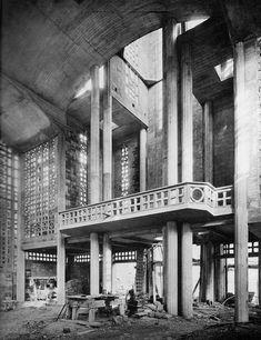Notre Dame du Raincy, Raincy Auguste Perret 1922