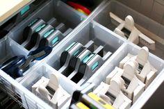 Organization Week: Tips for Organizing Your Scrapbooking Tools   Creating Keepsakes Blog