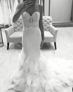 Lazaro wedding gown Style 3610