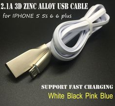 Find More Mobile Phone Cables Information about 1M 2.1A Zinc Alloy & TPE Noodle USB Data Sync Charger Cable Micro USB Data Sync Charger Cable Cord Wire For iPhone 5 5s 6 6Plus,High Quality wire fire alarm system,China wire wick Suppliers, Cheap cabl from Just Only on Aliexpress.com