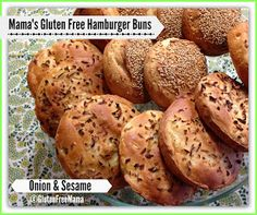 Gluten Free Mama's Blog: Mama's Basic Hamburger Bun Recipe with 4 Variations!