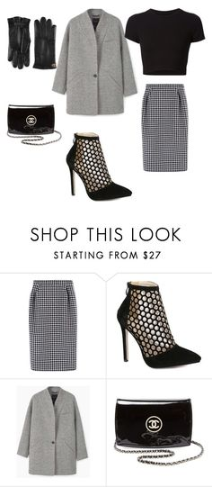 """""""New York City"""" by kkmahony ❤ liked on Polyvore featuring MaxMara, MANGO, Getting Back To Square One, Chanel and Gucci"""