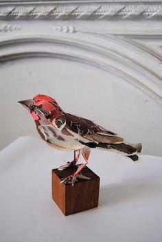Torn Paper Sculptures Anna-Wili Highfield