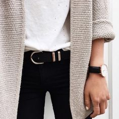 sweater outfit made cardigan oversized sweater knitwear fall outfits cream beige