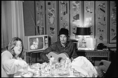 The Mamas and the Papas at the Sherry-Netherlands Hotel, 1968.