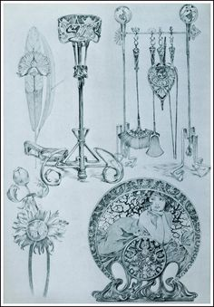 Alphonse Mucha | Documents Decoratifs - 1901.