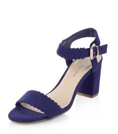 - Scallop edge detail- Buckle fastening- Heel height: 1