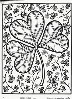 Free Printable St Patrick S Day Coloring Page 2014 Pdf