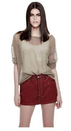 tricot lurex