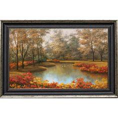 Romanello 'Beauty of Autumn' Framed Artwork