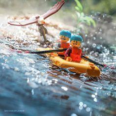 for more creations ? amazing LEGO photos by - Trend Photography Lego 2019 Legos, Lego Memes, Lego Humor, Lego Poster, Lego Disney, Ps Wallpaper, Lego Man, Lego Guys, Lego Creative