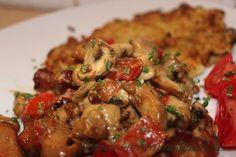 Rösti mit Geschnetzeltem nach Jägerart – Kochen nach Plan