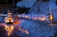 Night Trains at the Twin Cities Model Railroad Museum. (Courtesy photo)
