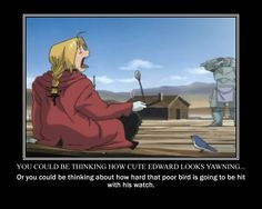 FMA motivational poster, Ed Elric by aereyiahikari.deviantart.com on @deviantART