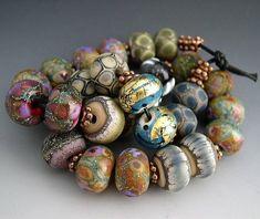 Naos Glass One of Each Bead Pair Mega Set 28 beads Made To Order Artisan Glass Beads Handmade Lampwork Beads SRA Clay Beads, Lampwork Beads, Ceramic Beads, Handmade Beads, How To Make Beads, Bead Art, Thing 1, Beaded Jewelry, Glass Jewelry