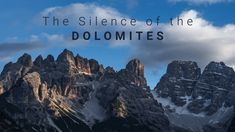 The Silence of the Dolomites (Timelapse of Tre Cime, Passo Gardena, Lago di Braies, Lago di Sorapis)