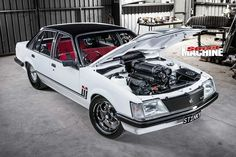 One of the star unveil cars of Summernats 31 - Craig Morrow's innovative and insanely tough 1983 Holden VH Commodore SL/E Australian Muscle Cars, Aussie Muscle Cars, Holden Muscle Cars, Holden Commodore, General Motors, Motocross, Techno, Dream Cars, Weapons