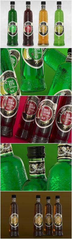Bottle and Label Des