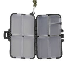9 Compartment Double Sided Waterproof Eco-Friendly Fishing Tool Lure Bait Tackle Storage Box