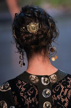 Dolce and Gabbana Spring 2014 Hair and Makeup | Pictures Photo 18