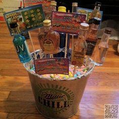 Diy easter basket for him boyfriend husband fiance holiday basket of vices 7 easter basket ideas for men negle Choice Image