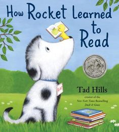 Classroom Book Activities for: How Rocket Learned to Read by Tad Hills Story Summary In this wonderful story about words and reading, a little yellow Best Children Books, Childrens Books, Learner Profile, Sounding Out Words, Dog Books, Reading Books, Book Themes, Learn To Read, Read Aloud