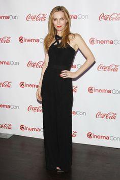 Leslie Mann at the CinemaCon Big Screen Achievement Awards.