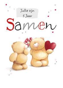 trouwkaart - bloem-en-hart-voor-beer