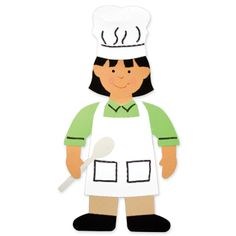 Create community helpers with our dies for a police officer, fire fighter, teacher, and chef