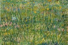 Coin d'Herbe - Vincent Van Gogh