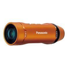 PANASONIC HX-A1 orange Caméra sport Full HD ultra compacte et résistante - CMOS… pas cher - PetitBuzz ❤