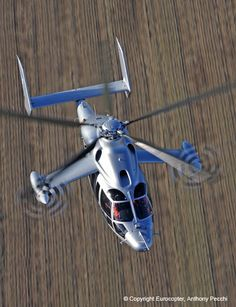 The future is now; Eurocopter X3 hybrid helicopter hits 232 knots