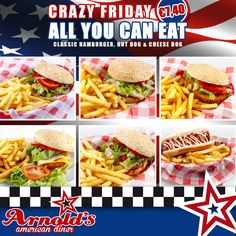 ALL YOU CAN EAT  CRAZY FRIDAY  #ARNOLDSdiner #food #ForzaPistoia #amazing #beautiful  #delicious #hot #instagood #love #photooftheday #sweet   APERTO TUTTI I GIORNI  (12.00-15.00/19.00-24.00)   ARNOLD'S diner  felice di rendervi felici  PISTOIA, via Toscana 124