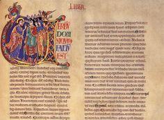 romanesque illuminated manuscripts - Google Search