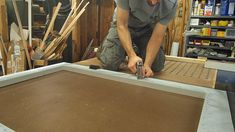 Mike Poorman from Woodshop Mike walks through how to build a DIY screen door from scratch. Screened Porch Doors, Screened In Deck, Front Porch, Custom Screen Doors, Wood Screen Door, House Design, Building, Modern, Projects