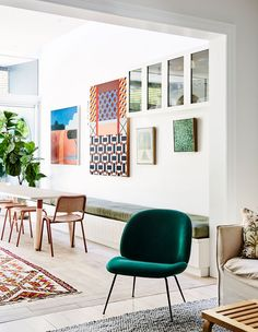 The Design Files: Inside Sophie Trippe-Smith's terrace transformation Rooftop Terrace Design, Timber Shelves, Greenhouse Interiors, Architecture Awards, Lounge Design, The Design Files, Australian Homes, Mid Century House, Inspired Homes