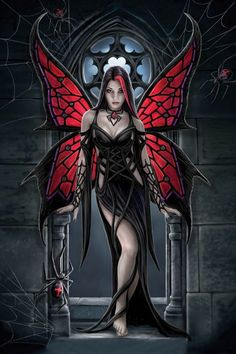 Red Gothic Fairy